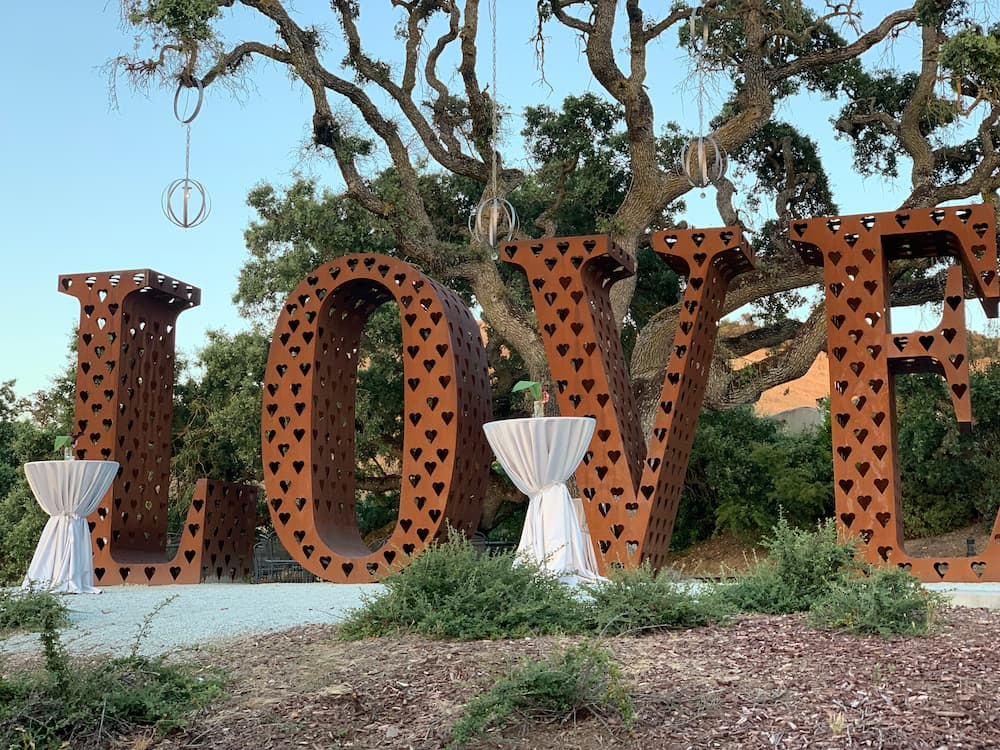 event marketing, event production, love decor for events, wine events